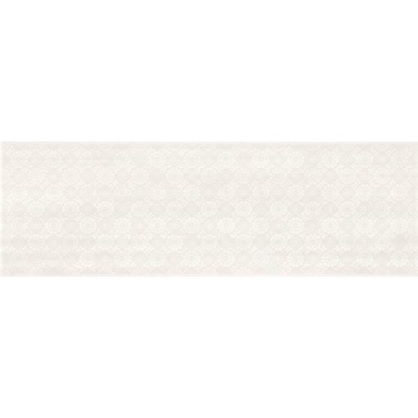 FERANO white lace inserto satin 24 x 74 GAT.I
