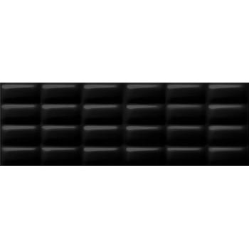 Black Glossy Pillow struktura 25x75 G.I