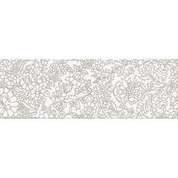 White Inserto Flower 25x75 G.I