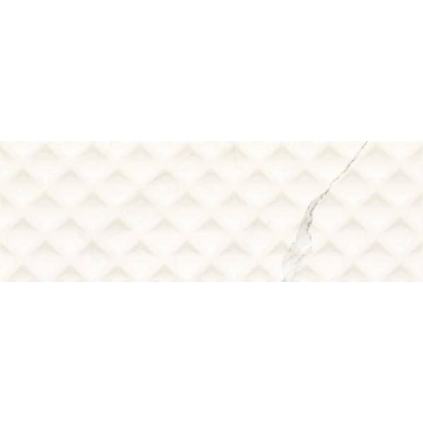 Livia Bianco Ściana Struktura  25x75 GAT.I