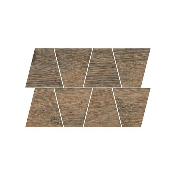 RUSTIC BROWN MOSAIC TRAPEZE 19x30,6 GAT.I