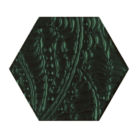 Urban Colours Green Inserto Szklane Heksagon 17.1x19.8 GAT.I