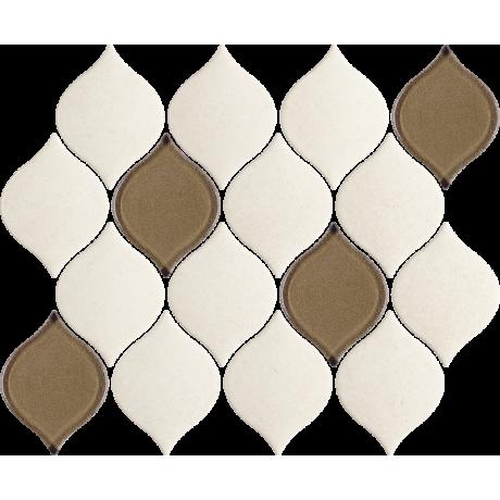 Mistysand Crema Mozaika Prasowana Arabeska Mix 20.2x26.5 GAT.I