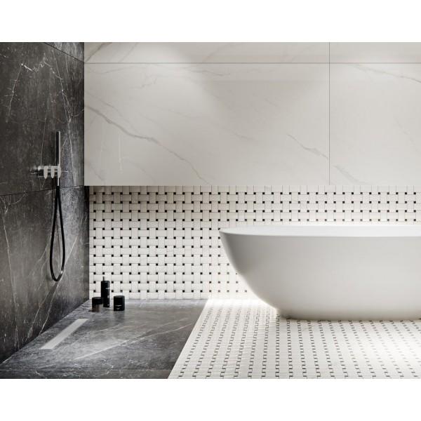Uniwersalna Mozaika Bianco Paradyż Torton  29.8x22.3 GAT.I