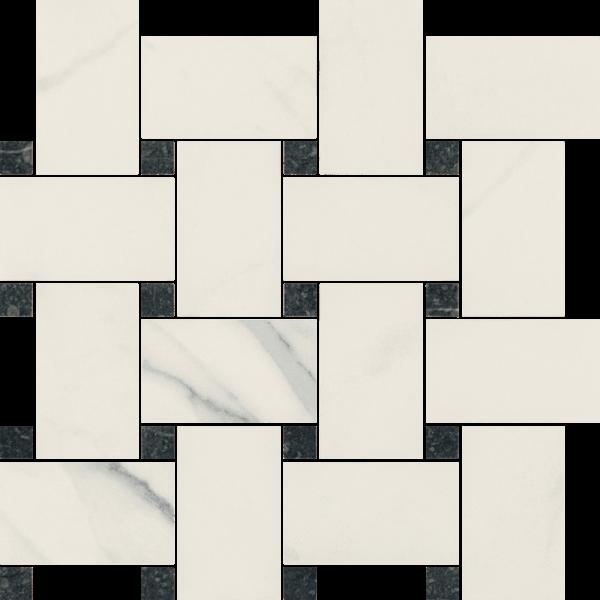 Uniwersalna Mozaika Bianco Paradyż Pantos  26.6x26.6  GAT.I