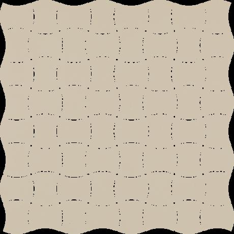 Modernizm Bianco Mozaika Prasowana K.3,6X4,4 30.9x30.9GAT.I