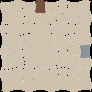 Modernizm Bianco Mozaika Prasowana K.3,6X4,4 Mix A 30.9x30.9GAT.I