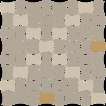 Modernizm Bianco Mozaika...