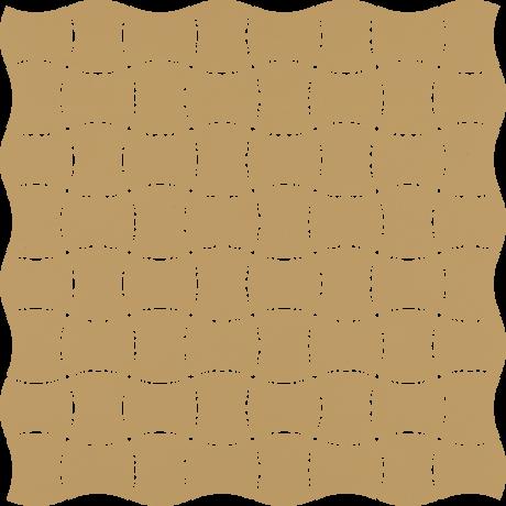 Modernizm Ochra Mozaika Prasowana K.3,6X4,4  30.9x30.9GAT.I