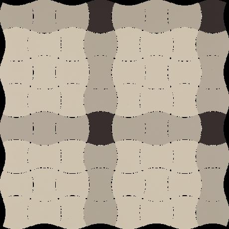Modernizm Grys Mozaika Prasowana K.3,6X4,4 Mix A 30.9x30.9GAT.I