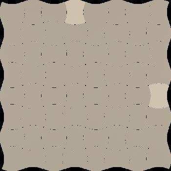 Modernizm Grys Mozaika Prasowana K.3,6X4,4 Mix B 30.9x30.9GAT.I