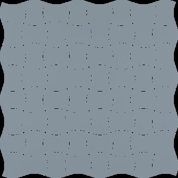 Modernizm Blue Mozaika Prasowana K.3,6X4,4 30.9x30.9GAT.I
