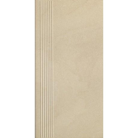 Rockstone Beige Stopnica Prosta Mat. 29.8x59.8 GAT.I