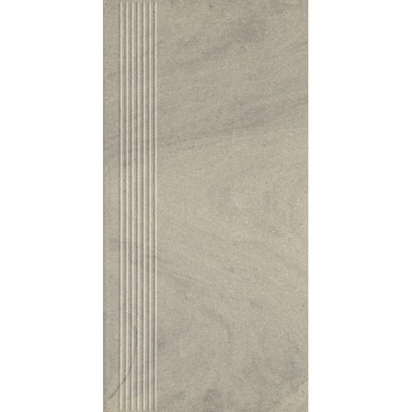Rockstone Antracite Stopnica Prosta Mat. 29.8x59.8 GAT.I