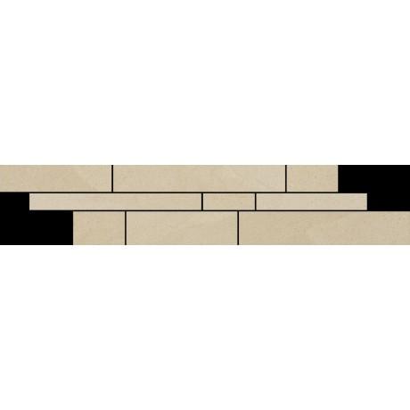Rockstone Beige Listwa Mix Paski 14.3x71 GAT.I