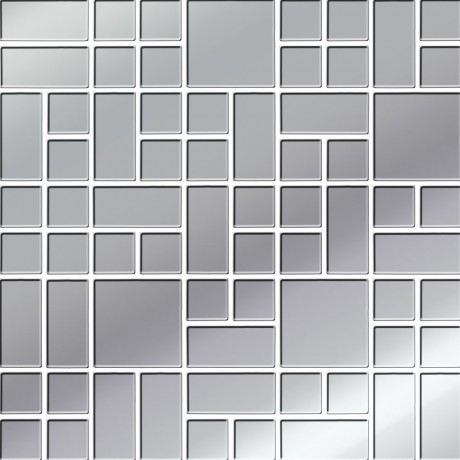 Platinum Glass Mosaic 25x25 GAT.I