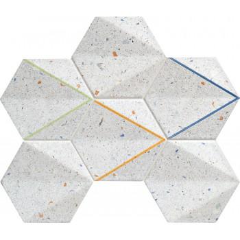 Dots grey mozaika 29,8x22,1...