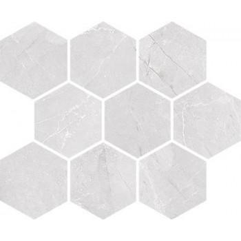 Braga white mosaic 23,7x29...